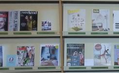 Voorbeeld van de tijdschriften collectie